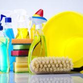 Ein Vier-Personenhaushalt kauft jährlich 64 kg Wasch- und Reinigungsmittel