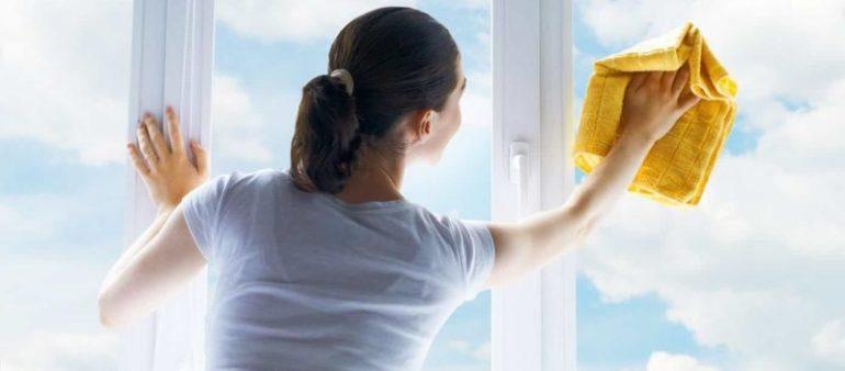 Fensterrahmen reinigen – einfach gemacht