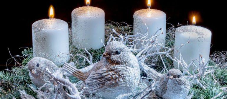 Brandgefahr im Advent – Vorsichtiger Umgang mit Kerzen und Deko